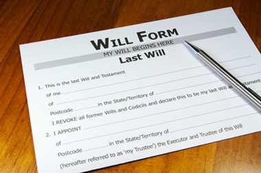 legal wills and will kits