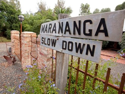 Win a weekend away at Marananga Cottages