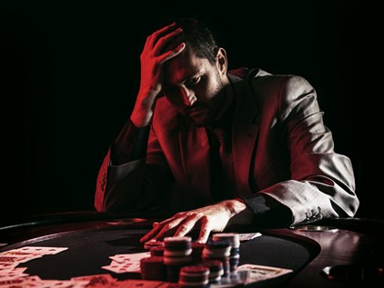 Relationship breakdown caused by gambling