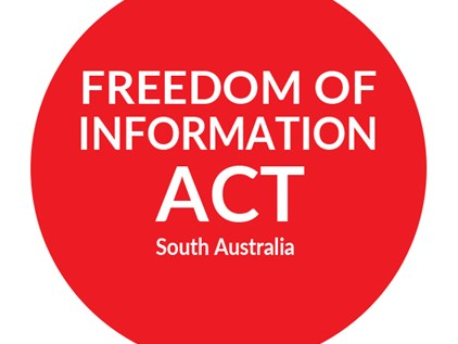 FOI applications to the South Australian State Government