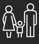 Family law adelaide - mum and dad holding hands with child in the middle