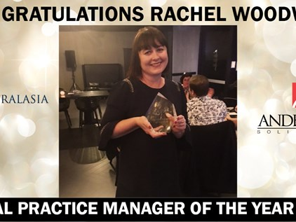 Andersons Solicitors Practice Manager Rachel Woodward