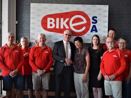 Andersons Solicitors Sponsor Bike SA Volunteers